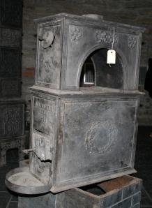 Aadals bruk nr 5. Datert 1848, trolig de første året de lagde ovner.