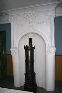 Ovnsnisje fra ca 1760, her med en nyere ovn.